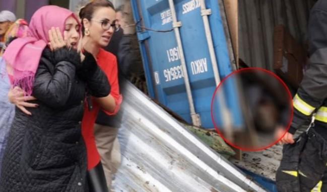 Üzerlerine konteyner düşen 2 işçi öldü!