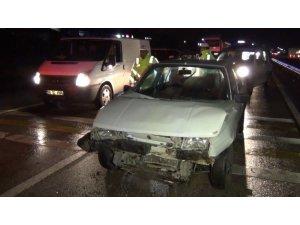 Yağmur sonrası zincirleme kaza: 5 yaralı
