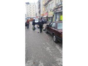 Beyşehir'de otomobille motosiklet çarpıştı: 1 yaralı