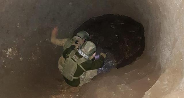 Siirt'te PKK'lı teröristlerce mağaraya gizlenmiş mühimmat ele geçirildi
