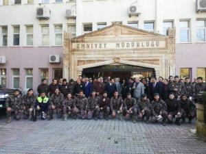 Mardin'de emniyet personeline altın