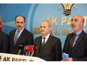 Ulaştırma ve Altyapı Bakanı Turhan, Konya'da
