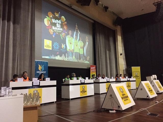 Bilgi ve münazara yarışmalarının Konya elemeleri başladı