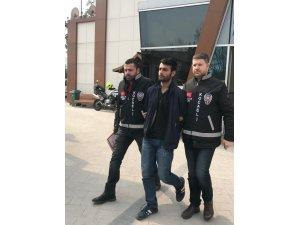 İş yerinden 10 bin TL'lik kablo çalan kağıt toplayıcısı polise yakalandı
