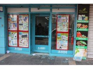 Diyarbakır'da bir markette hırsızlık