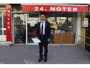 AK Parti Buca Belediye Başkan adayından noter tasdikli vaat