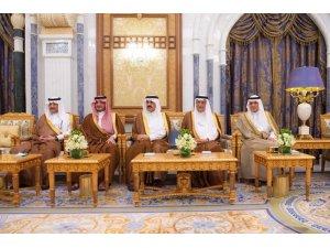 Kral Selman, Ürdün Başbakanı Er-Rezzaz ile görüştü