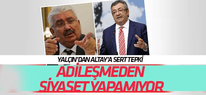 MHP'den Engin Altay'ın tehdidine sert cevap: Adileşmeden siyaset yapamıyor!