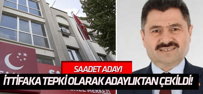 SP adayı HDP ile ittifaka tepki olarak adaylıktan çekildi!