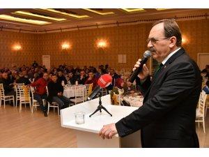 """Başkan Şahin'den belediye personeline: """"İçiniz rahat olsun"""""""