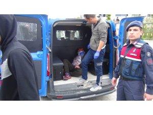Otobüs şoförüyle tartışan İranlı turistler ortalığı birbirine kattı