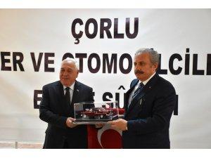 """TBMM Başkanı Mustafa Şentop: """"Türkiye'de bir istikrar var"""""""