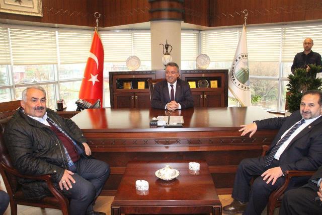 AK Parti teşkilatından Hançerli'ye ziyaret