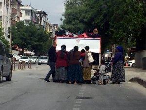 Gaziantep'te tarım işçilerinin tehlikeli yolculuğu
