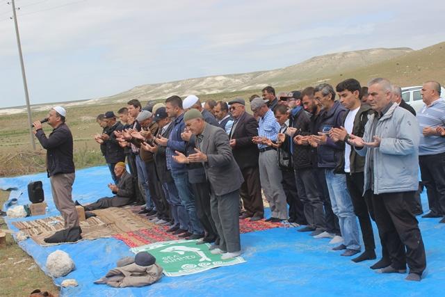 Karapınar'da şükür duası