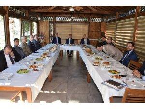 Orman Yangınları İle Mücadele Komisyonu toplandı