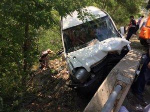 Artvin'de trafik kazası: 1 ölü, 6 yaralı
