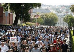 Rusya'da protestolarda 500 kişi gözaltına alındı