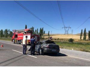 Ulaş'ta trafik kazası: 5 yaralı
