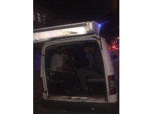 İstanbul'dan aldığı kaçak göçmenlerle Tekirdağ'da yakalandı
