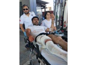Samsun'da silahlı saldırıya uğrayan simitçi yaralandı