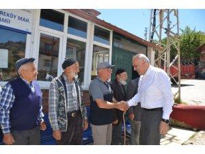 Kızılcahamam'da mahalle ziyaretleri başladı