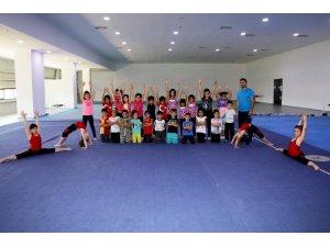 Cimnastik yaz okulu sürüyor