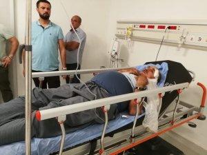 Mersin'de görme engelli imama dua dayağı