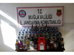 Fethiye'de kaçak tütün ve alkol operasyonu