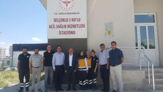 3 Nolu Acil Sağlık Hizmetleri İstasyonu Yenilendi