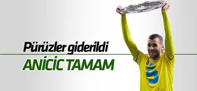 Konyaspor'da Anicic transferinde pürüzler giderildi