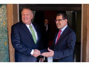 ABD Dışişleri Bakanı Pompeo Fas'ta üst düzey temaslarda bulundu
