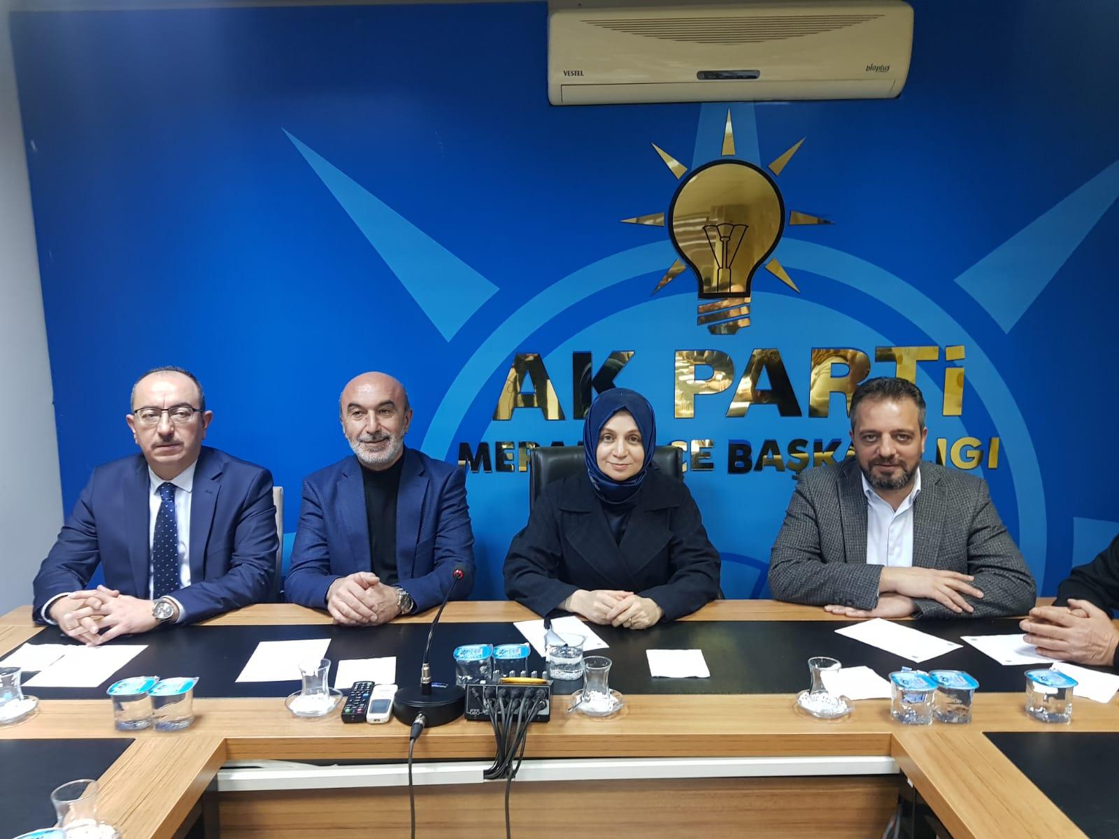 AK Parti Meram 2019'un son toplantısını yaptı