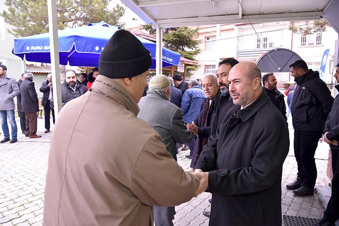 Başkan Pekyatırmacı yılın ilk cumasında hemşehrileriyle buluştu