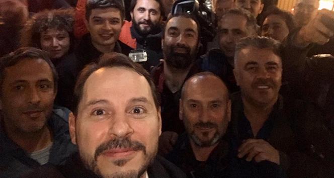 Albayrak: 'Gazetecileri seviyoruz, yerli milli gazeteciliğe devam'