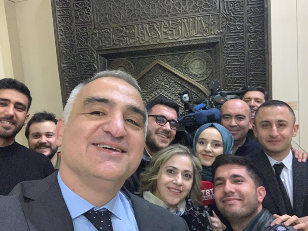 Bakan Ersoy, Müzede Selfie Günü etkinliğine katıldı: