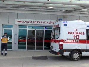 Beyşehir'de silahlı yaralama