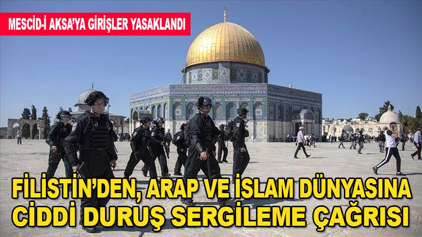 Filistin'den, Arap ve İslam dünyasına ciddi duruş sergileme çağrısı