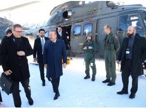 Bakan Çavuşoğlu ve Bakan Pekcan Davos'a geldi