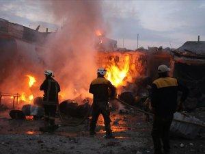 Halep'in batısında ve İdlib'te ölü sayısı 35'e yükseldi