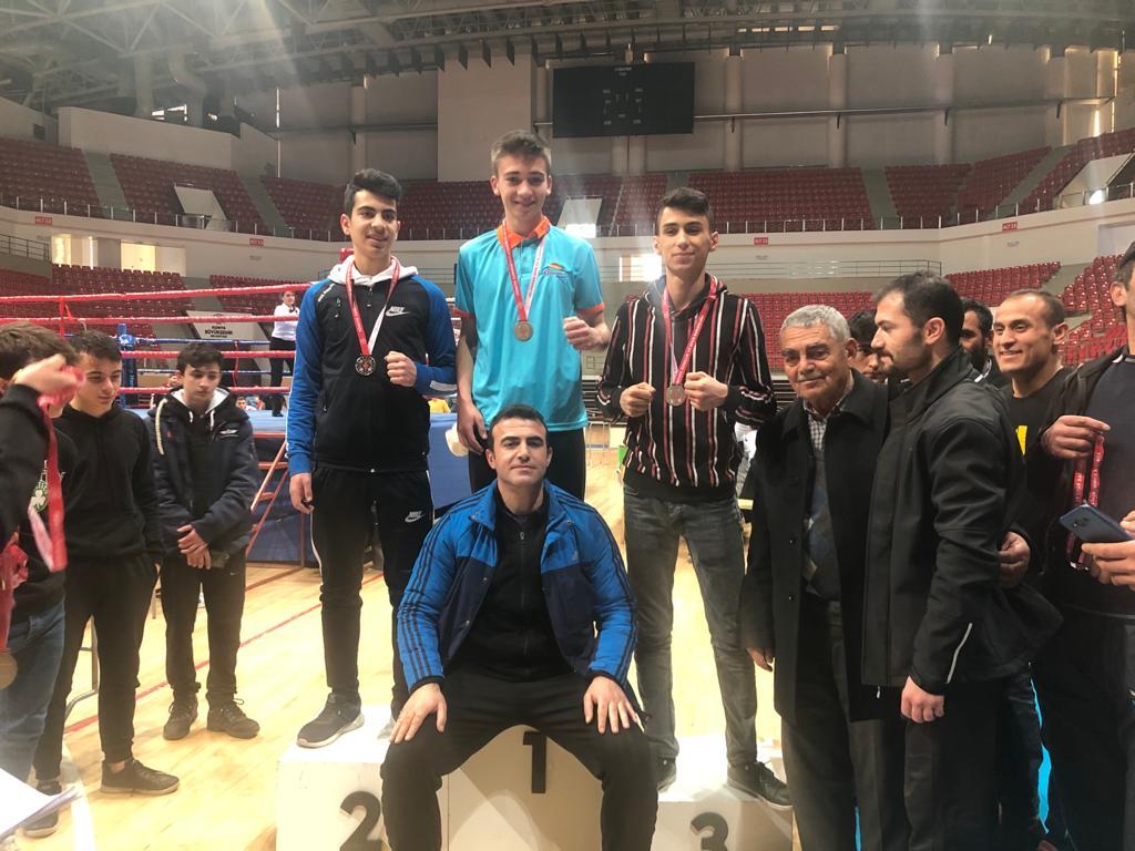 Seydişehir Belediyesi Muaythai sporcuları Konya'dan birincilikle döndü