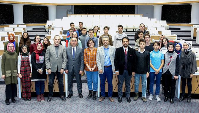Başkan Kavuş, geleceğin liderlerini ağırladı