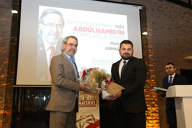 Mustafa Armağan Konya'da Sultan Abdülhamit'i anlattı