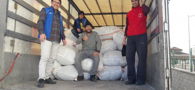 Karapınar'dan İdlib'e yardım tırı yola çıktı