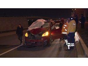 Ankara'da intihar gibi kaza: 1 ölü, 1 yaralı
