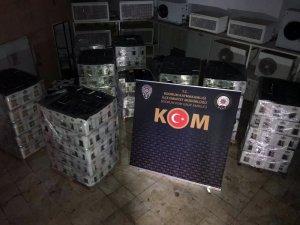 Bodrum'da 7 bin şişe sahte içki