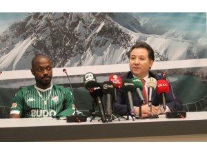 Bursaspor, Traore ile sözleşme imzaladı