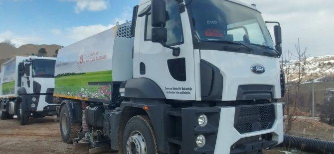 Bozkır Belediyesi araç filosunu genişletiyor