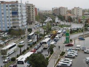 Aydın'da araç sayısı 456 bine yükseldi