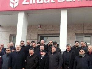 AK Parti Seydişehir teşkilatı üyelerinin depremzedelere yardımı